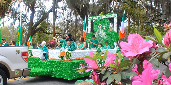 Savannah's 2017 St. Patrick's Day Celebration - Naturalbabydol