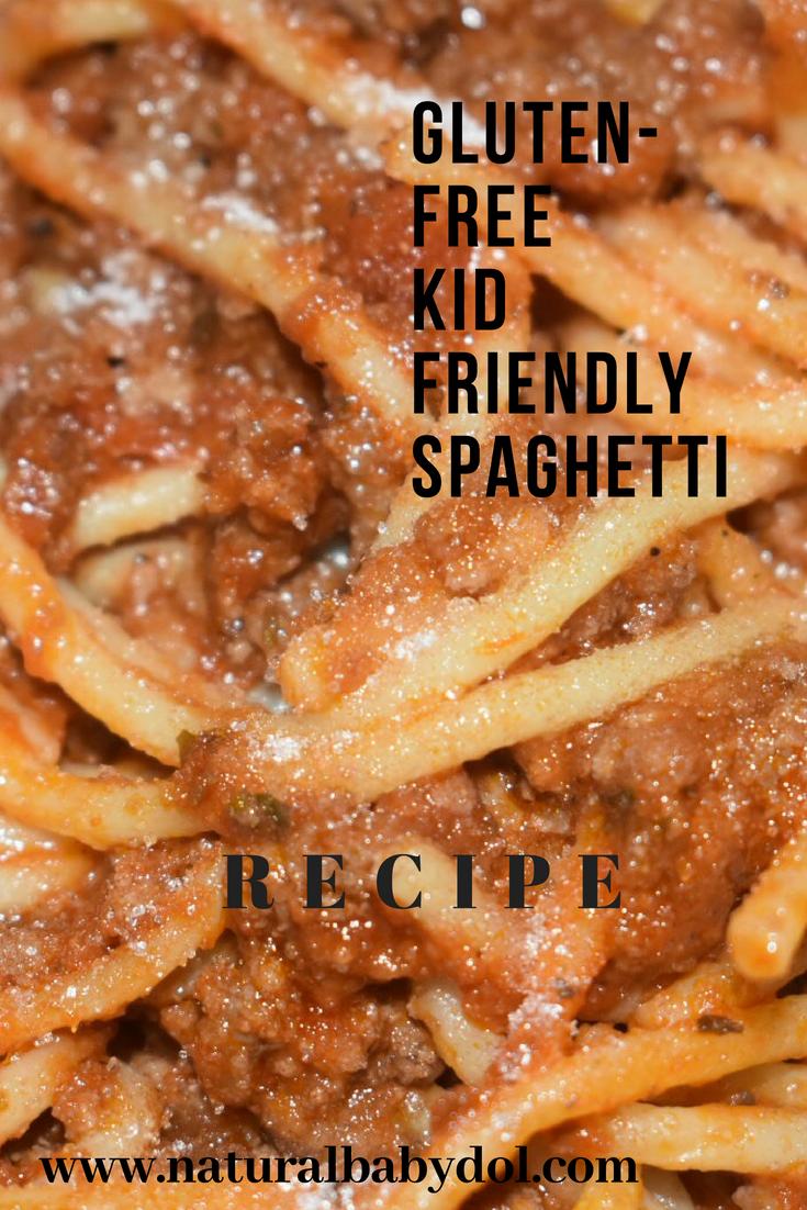 """""""Gluten-Free Spaghetti"""" """"Gluten Free"""" """"Kid Friendly"""" """"Cooking With Kids"""" """"Naturalbabydol"""" """"Dinner"""""""