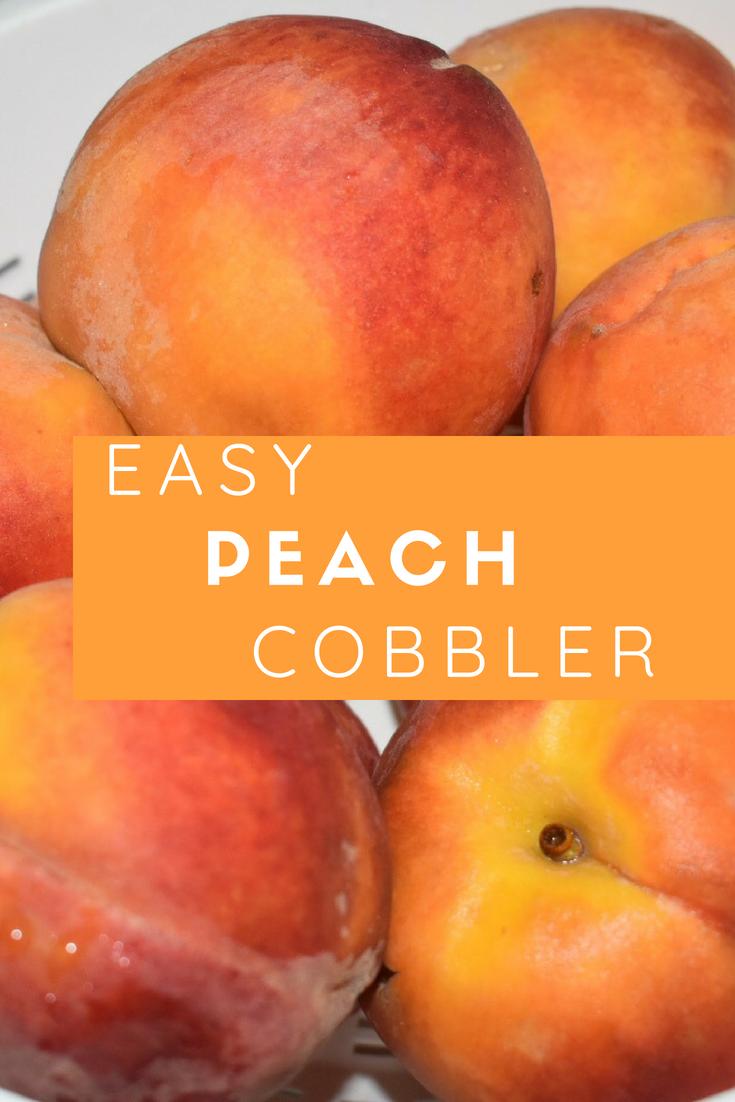 """Peach Cobbler"" ""DIY"" ""Peaches"" ""Summer"" ""Summer Treat"" ""Dessert"" ""Naturalbabydol"" ""DIY"" ""Peach Cobbler Recipe"""