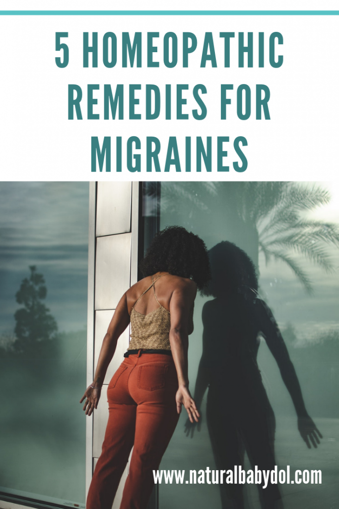 5 HOMEOPATHIC REMEDIES FOR MIGRAINES